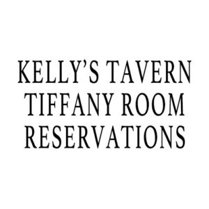 Tiffany Room Reservations